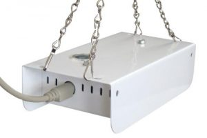 Agrowtek Aspirated Indoor Climate Sensor (Temp/RH/Light) w/ CO2 Upgrade Installed (4/Cs)