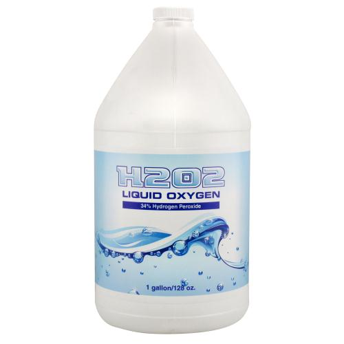 H2O2 Liquid Oxygen 34% Gallon (4/Cs)