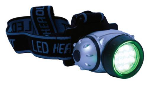 Green Eye LED Headlight (100/Cs)