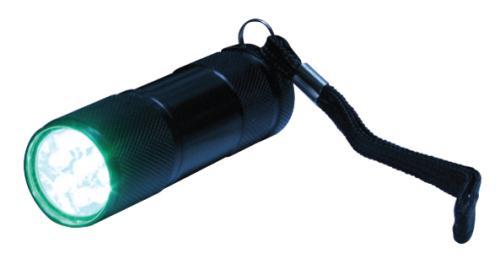 Green Eye LED Flashlight (120/Cs)