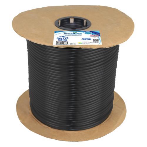 Hydro Flow EZ Flex - PVC Tubing 1/4 in OD x 3/16 in ID 1000 ft