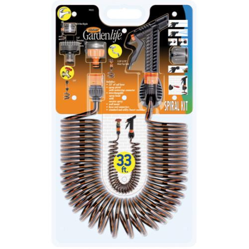 Claber Spiral Hose Kit (3/Cs)