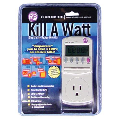 Kill A Watt Meter
