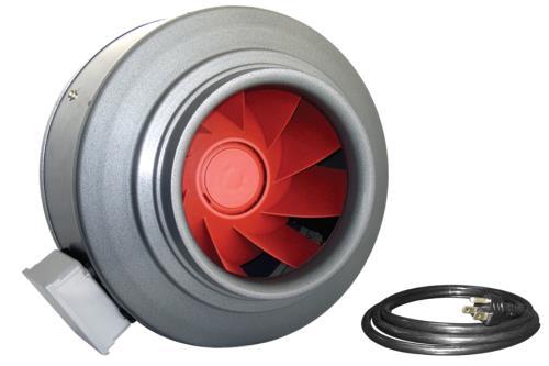 Vortex V-12XL Inline Fan 12 in 2050 CFM
