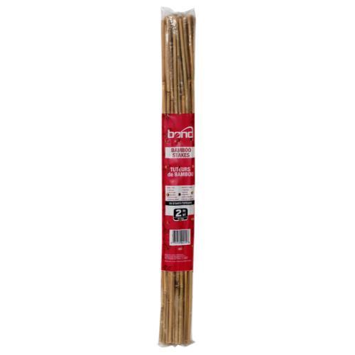 Bond Natural Bamboo Stakes 2 ft (25/Bag)
