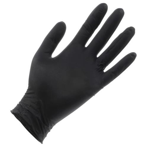 Black Lightning Powder Free Nitrile Gloves Small (100/Box)