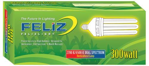 Feliz Dual Spectrum Fluorescent 300 Watt (9/Cs)