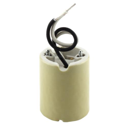 Mogul Base Socket 5KV/HOR w/ 5 in Leads